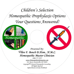 Children's Homeopathic Prophylaxis Options Audio CD