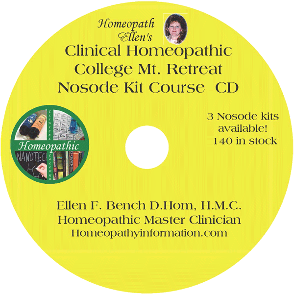 Nosode Kit Course CD