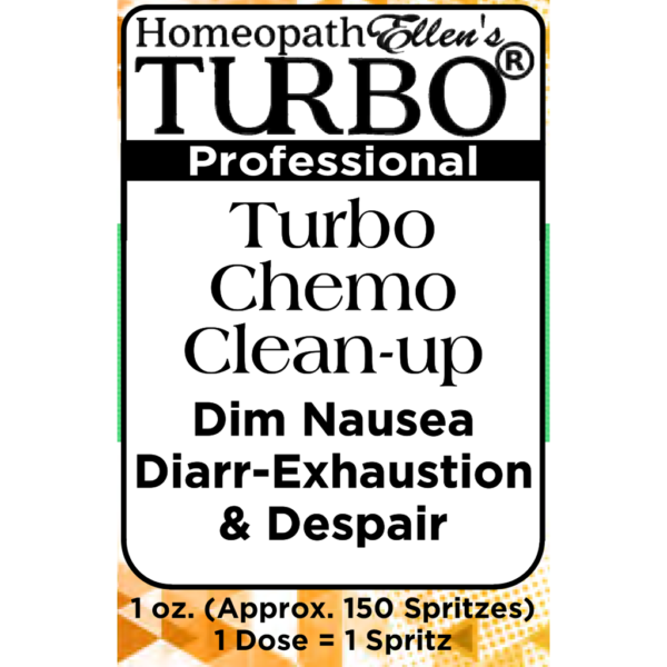 Turbo Chemo Cleanup Professional Homeopathic Spritz