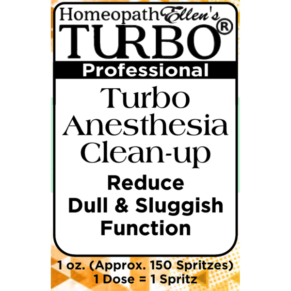 Turbo Anesthesia Clean-up Combo Spritz